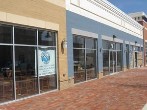 EYA Arts District Hyattsville Elevation Burger and Yogi Castle