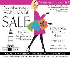 "new townhouses dc va ""old town boutique district warehouse sale"""