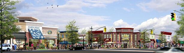 Busboys and Poets and Tara Thai are two local favorites planning to anchor the Arts District Hyattsville Retail Town Center.