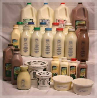 Farm Fresh Dairy Products from Trickling Springs Creamery