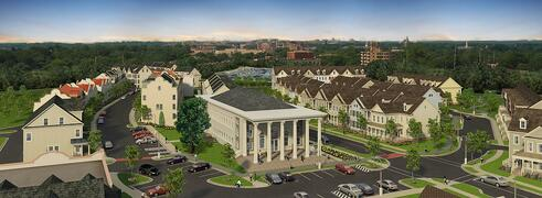 New Townhomes and Historic Condos in Silver Spring, MD