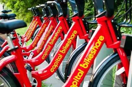 Win a FREE Yearlong Capital Bikeshare Membership from EYA