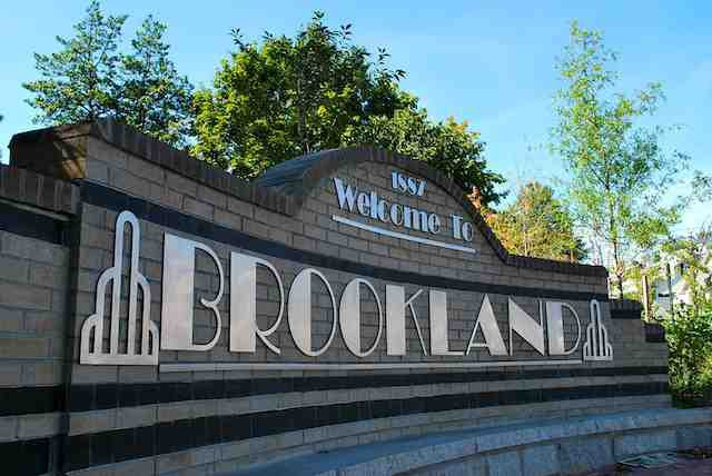 Brookland's New Welcome Sign