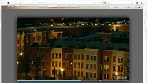 Capitol Quarter Townhomes as featured on CBS' hit show NCIS February 14, 2012.