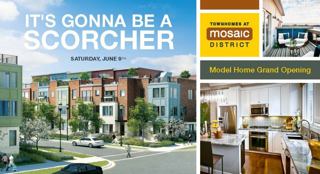 Mosaic District Model Home Grand Opening!