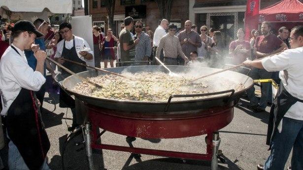 Taste of Bethesda, photo via Bethesda Urban Partnership