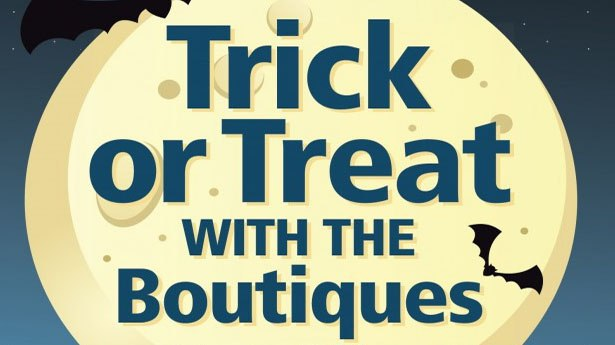 More than two dozen member stores in the Old Town Boutique District will be handing out treats – and maybe some tricks – on October 26 from 11 am to 6 pm.