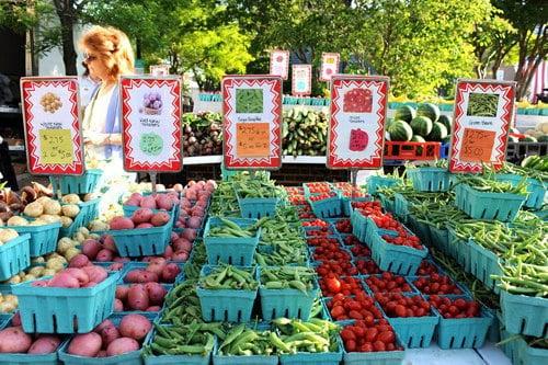 Alexandria Farmer's Market, Early Birds Do Well