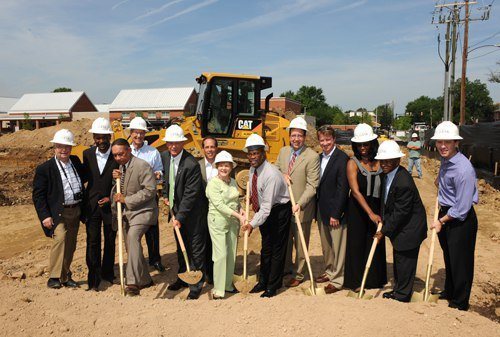 Groundbreaking At Old Town Commons