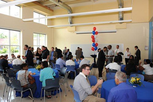 Reception at the Charles Houston Recreation Center