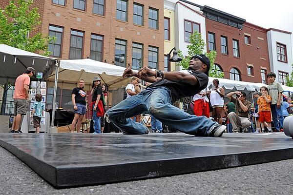 Dancer at Art Festival