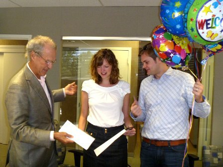 EYA recognizes 3,000th settlement with surprise visit.