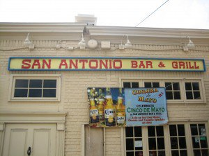 We searched our archives and found this *nostalgic* San Antonio Bar & Grill sign.  Times are a changin'.