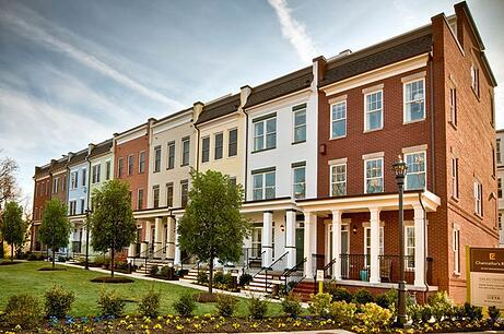 EYA Chancellor's Row DC Townhome Community