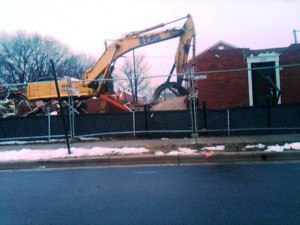 Demolition of the second block is now underway and new homes will be under construction there later this year.