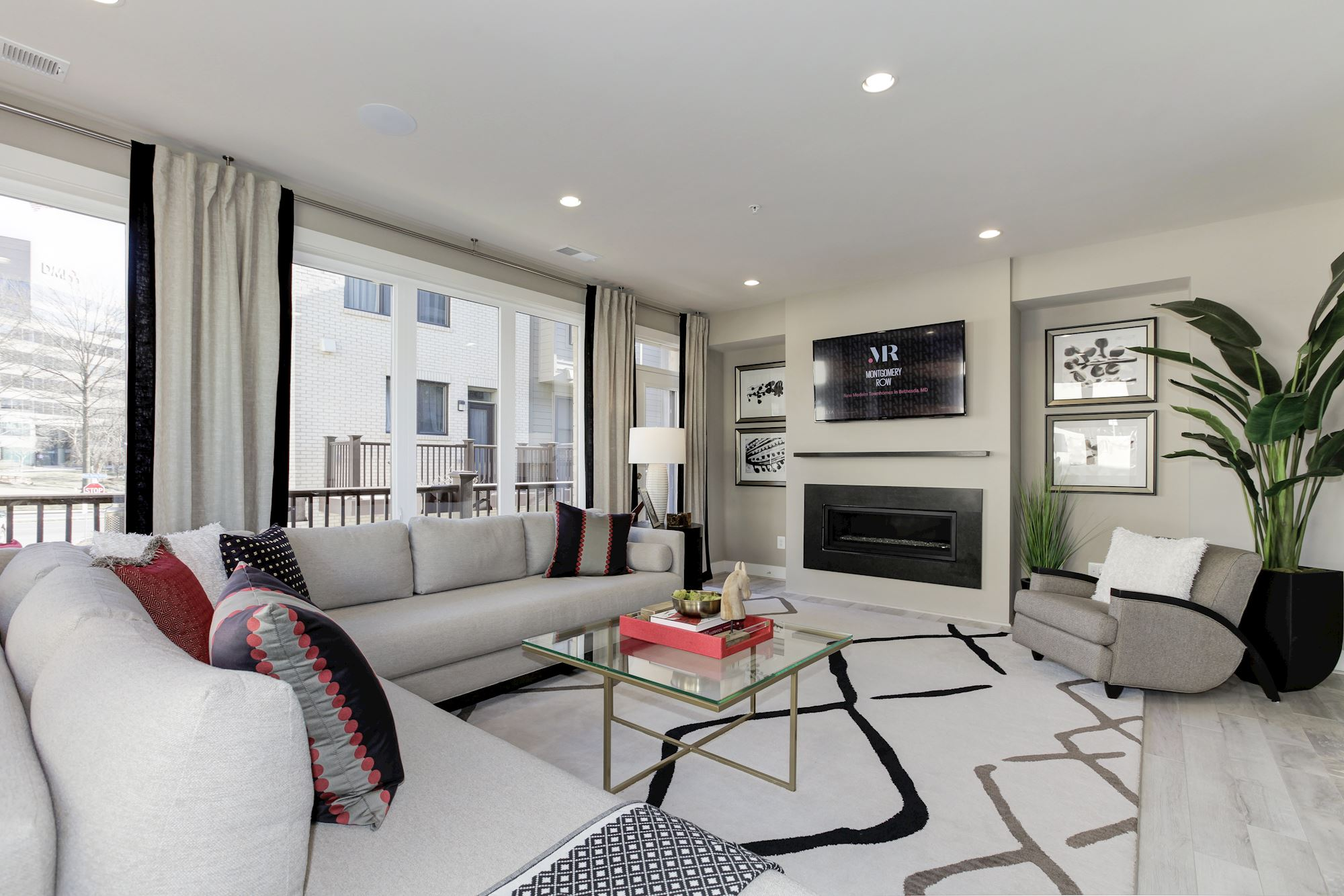 Living room Montgomery Row