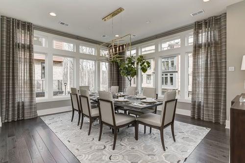 Grosvenor Heights dining room decor