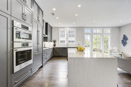Finish options like cabinets and countertops