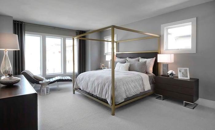 Grosvenor Heights Bedroom with Minimalist design