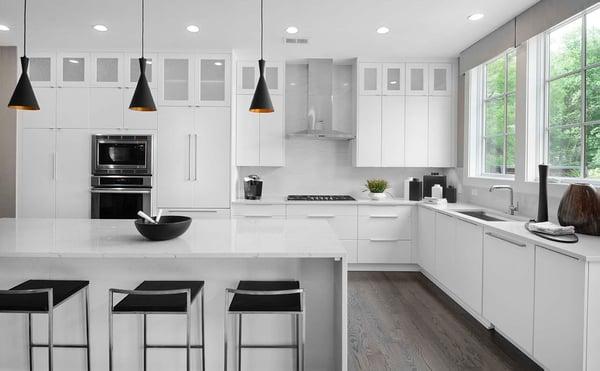 Modern Kitchen design from EYA