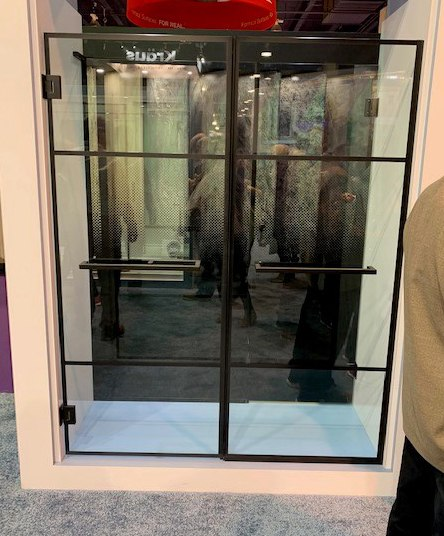Dreamline Black Shower Doors 1