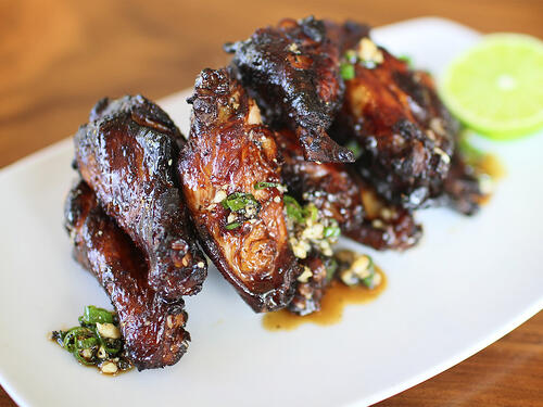 Founding Farmers Black Pepper Wings