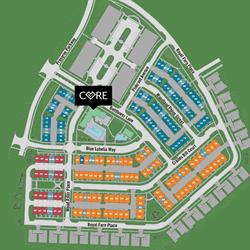 EYA Tower Oaks Siteplan