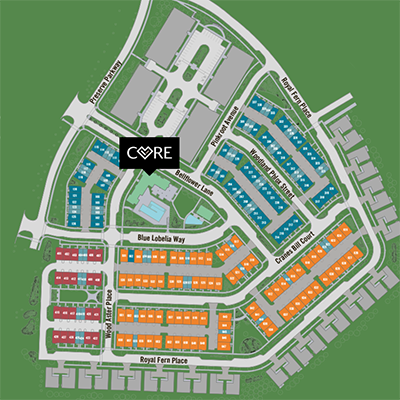 Siteplan with CORE