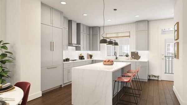 The Baker Model - Main Level Kitchen