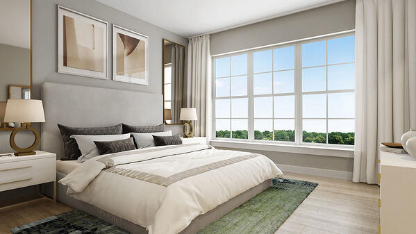The Conrad Model - Owners Suite Bedroom