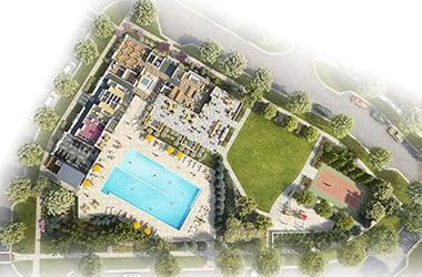 EYA Tower Oaks CORE footprint