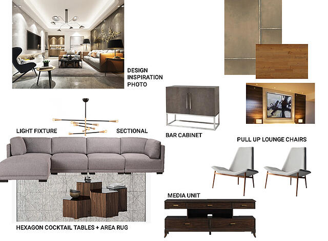 Updated Contemporary Cool Mood Board