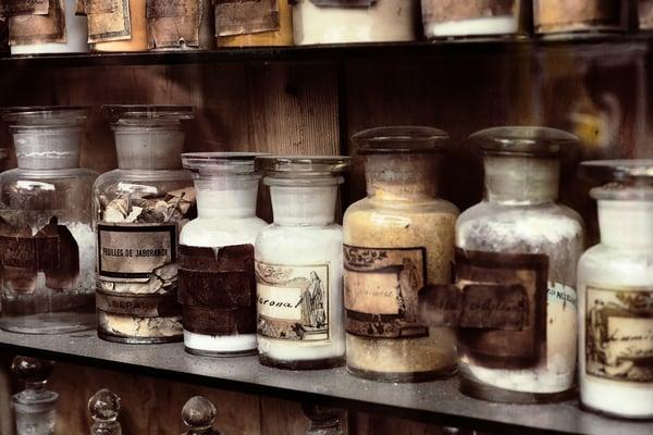 museum bottles