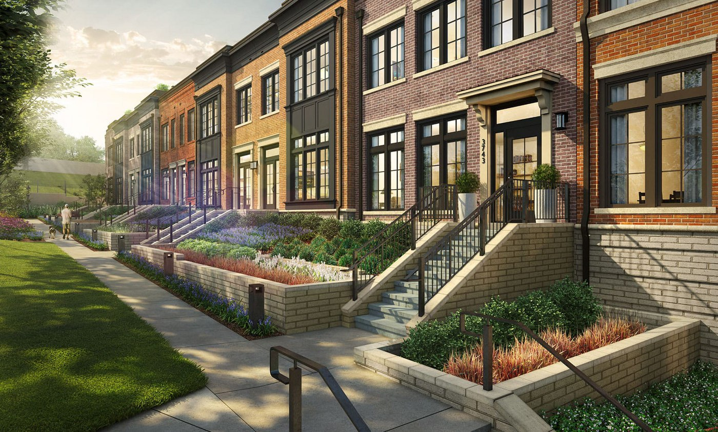 EYA Announces the Grand Opening of New Townhome Community, The Brownstones at Chevy Chase Lake