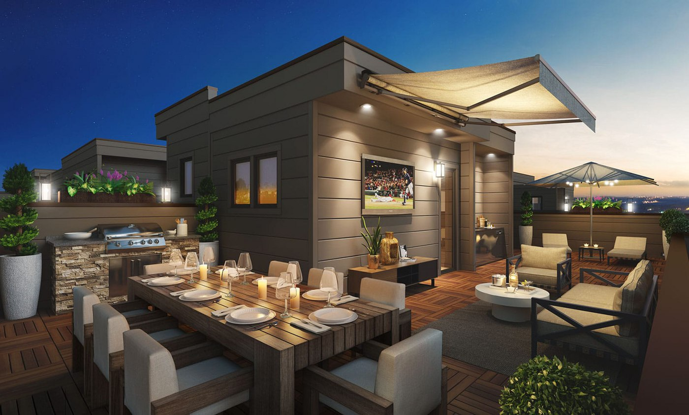Grand Opening: The Brownstones at Chevy Chase Lake