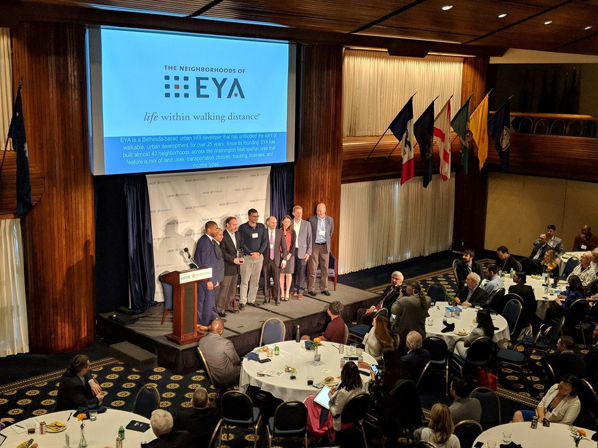 EYA selected 2018 LOCUS Company of the Year