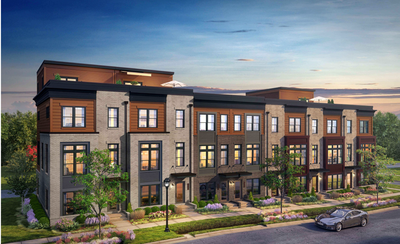 City of Fairfax Mayor and Council Green Light EYA Townhome Development on Pickett Road