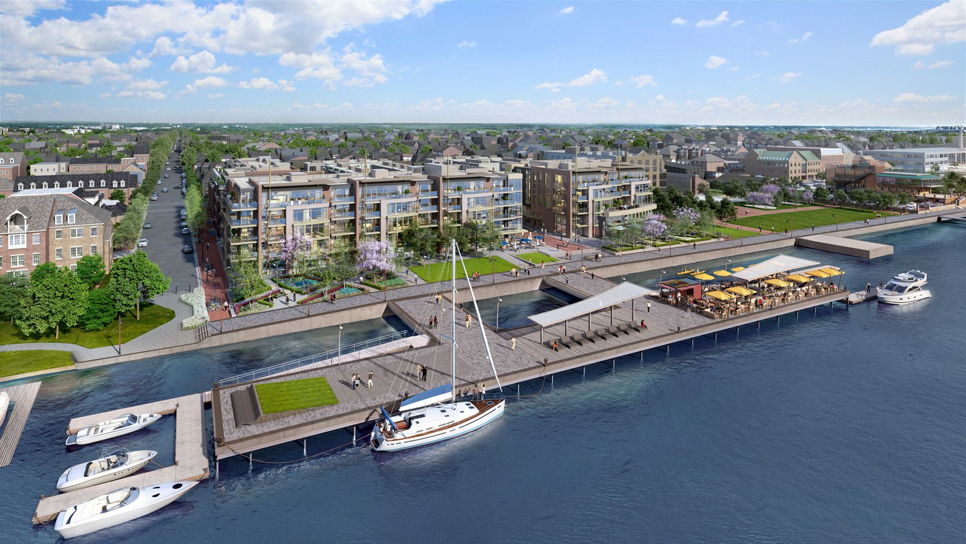 Robinson Landing Completes Retail Plan for the Waterfront