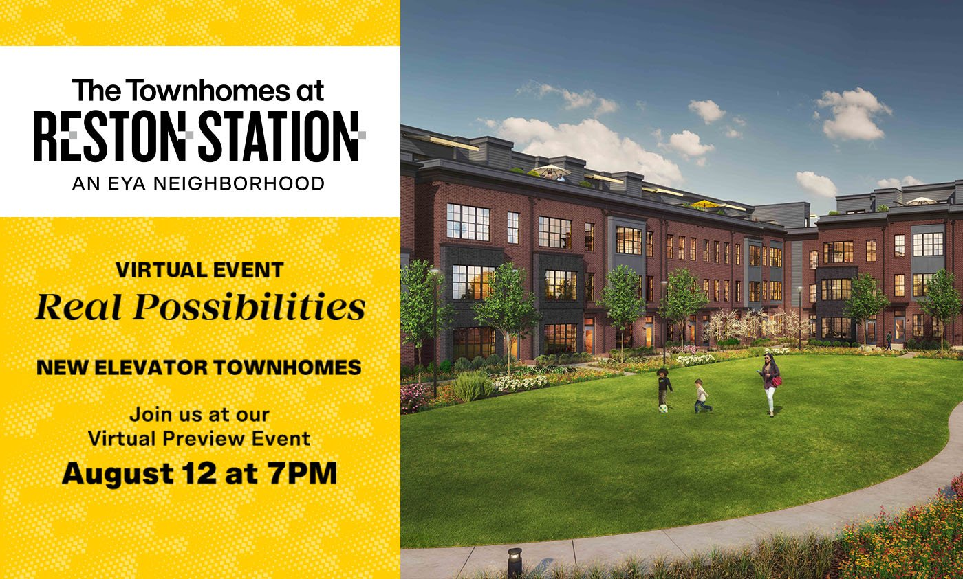The Townhomes at Reston Station VIP Virtual Preview Event