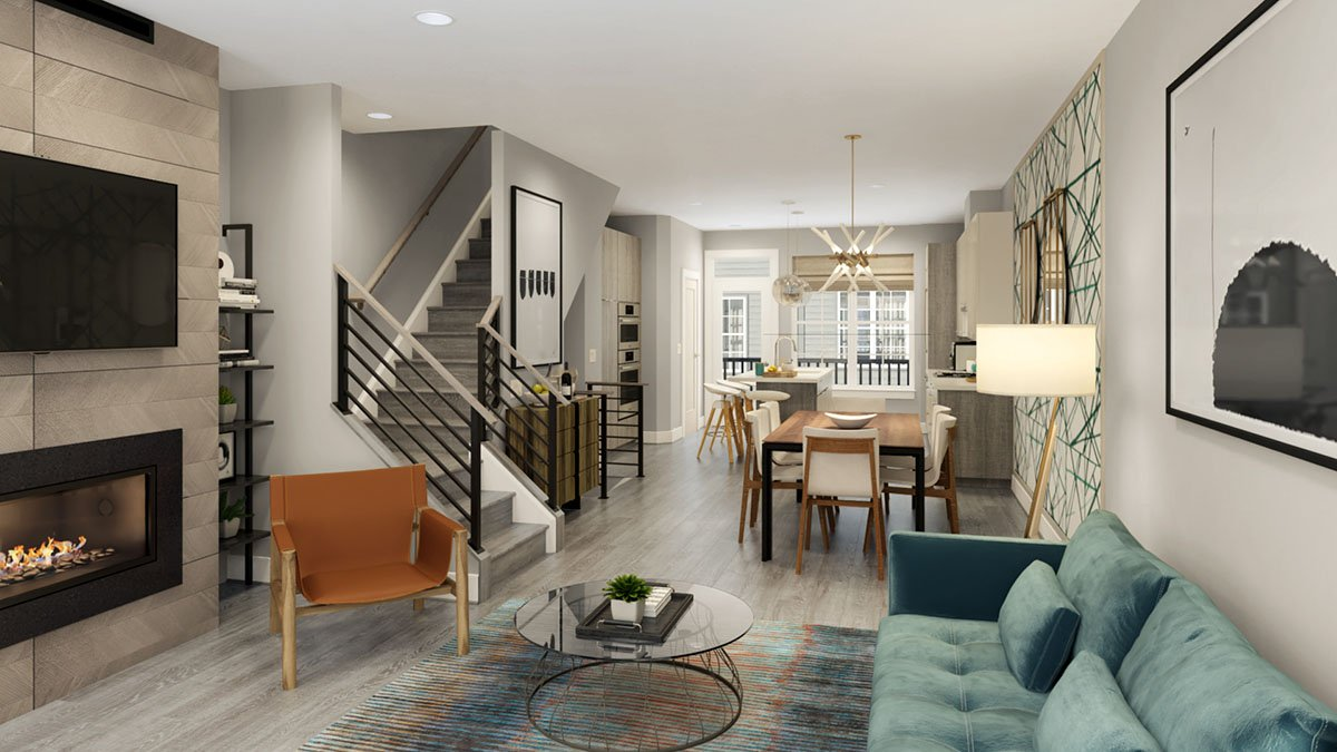 New Videos, Images, Virtual Tours & More for The Townhomes at Reston Station