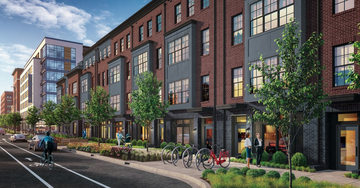 New Elevator Townhomes by EYA at Reston Station Metro 20190 | Home