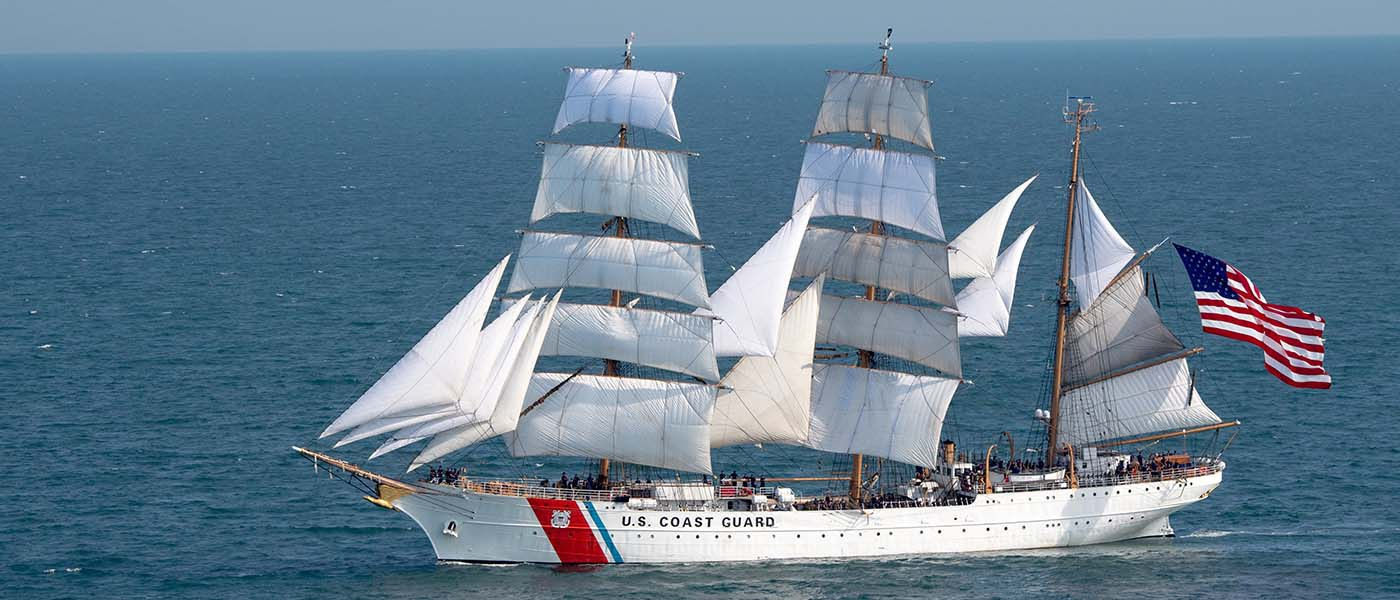 City of Alexandria and EYA Host USCG Tall Ship Eagle Sept. 4 - 8