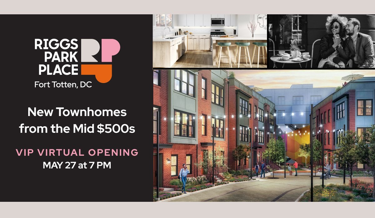 Riggs Park Place VIP Virtual Preview Event