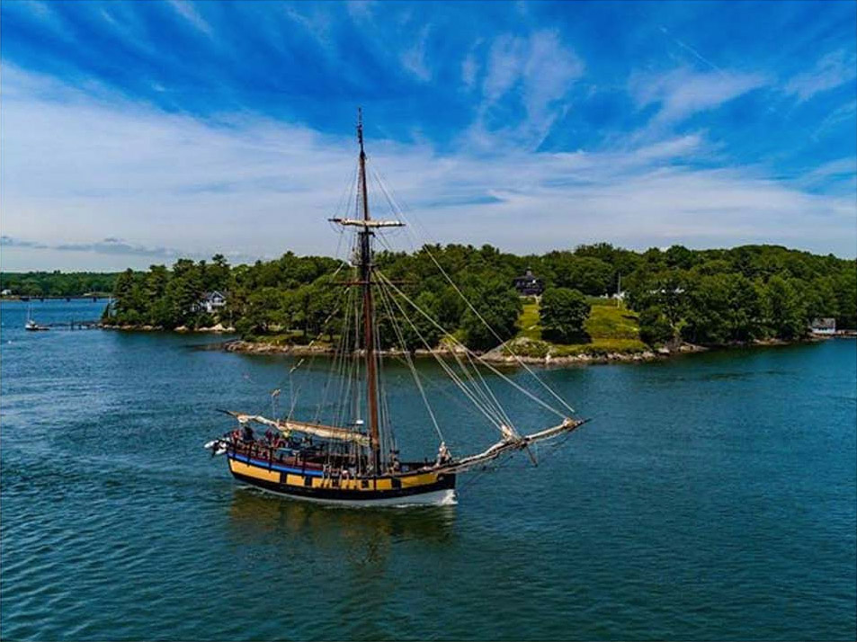Tall Ship Arrival Kicks Off July Events in Old Town